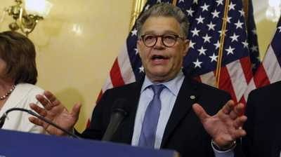 Bombshell: Dem. Senator Al Franken latest to get hit with sexual abuse allegations as woman steps forward - Americans are about to find out if Democrats and the mainstream media will hold their darlings to the same standard as they do Republican Alabama Senate nominee Roy Moore. On Thursday, model and sports commentator Leeann Tweeden, accused Democrat Minnesota Sen. Al Franken of groping her 'without my consent' during a USO tour of Vietnam in Dec 2006, and she provided photo evidence of the assault. Aaron P. Bernstein/Getty Images The accuser provided a photo as evidence of the grope: - MadSPace 2017 Daily Alternative Conservative Controversial Conspiracy News